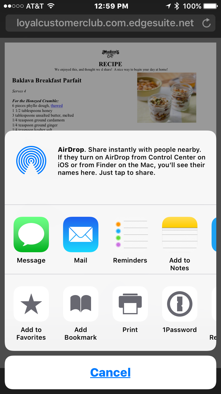 Saving A Pdf From Your Iphone Or Ipad And Storing It To Cloud Storage